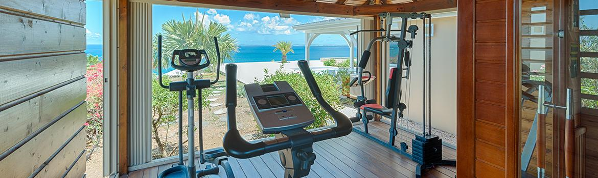 Villa Dream in Blue Gym & Sauna