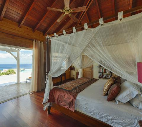Villa Dream in Blue Master Bedroom